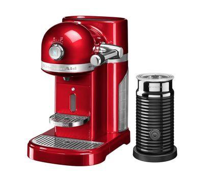 Кофемашина капсульная 1,4л KitchenAid Artisan Nespresso и Aeroccino (Карамельное яблоко) 5KES0504ECA фото