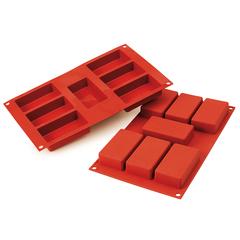 Форма для приготовления пирожных Rettangolo силиконовая Silikomart 26.110.00.0065