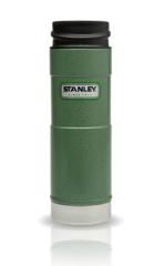 Термокружка Stanley Classic Mug (0,47 л.) 1-Hand, темно-зеленая 10-01394-013