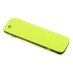 Маникюрный набор GD, 6 предметов, цвет желтый, кожаный футляр 1556Y