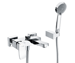 Aller 1061 Смеситель для ванны с коротким изливом WasserKRAFT Серия Aller 1060