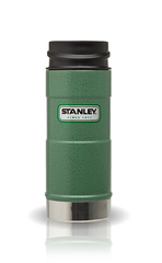 Термокружка Stanley Classic (0,35 л.) 1-Hand, темно-зеленая 10-01569-005