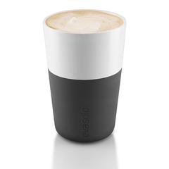 Чашки Eva Solo для латте 2 шт 360 мл черные 501003ES