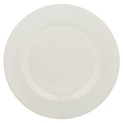 Обеденная тарелка Linear 27 см белая Mason Cash 2002.113