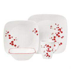 Набор посуды 16 предметов Corelle Hanami Garden 1101297