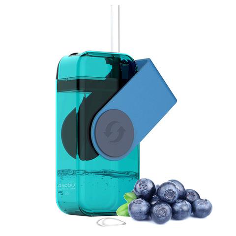 Мини-бокс для сока Asobu Juicy box (0,29 литра) голубой