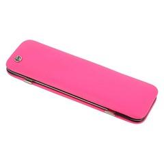 Маникюрный набор GD, 6 предметов, цвет розовый, кожаный футляр 1556R