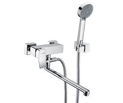 Aller 1062L Смеситель для ванны с длинным изливом WasserKRAFT Серия Aller 1060