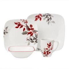Набор посуды 16 предметов Corelle Kyoto Leaves 1101078