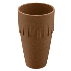 Кружка для латте CONNECT Organic 400 мл коричневая Koziol 4081674
