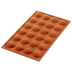 Форма для приготовления пирожных Semisfera 17,5 х 23 см силиконовая Silikomart 20.006.00.0065