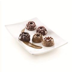 Форма для приготовления пирожных и кексов Charlotte 18 х 33,5 см силиконовая Silikomart 26.132.41.0065