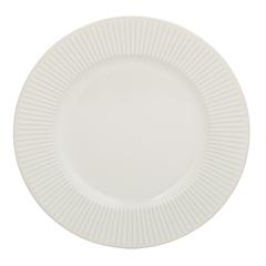 Тарелка Linear 21 см белая Mason Cash 2002.114