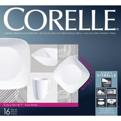 Набор посуды 16 предметов Corelle Pure White 1069958