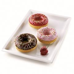 Форма для приготовления пончиков Donuts 18 х 33 см силиконовая Silikomart 26.170.71.0065