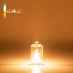 Лампа галогенная G9 220 В 50 Вт прозрачная Elektrostandard