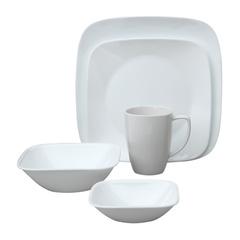 Набор посуды 30 предметов Corelle Pure White 1088664
