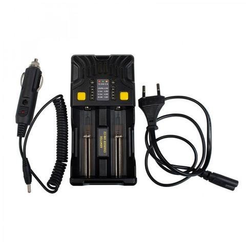 Зарядное устройство Armytek Uni C2, универсальное 2 канальное(1А для каждого канала/LED индикация)