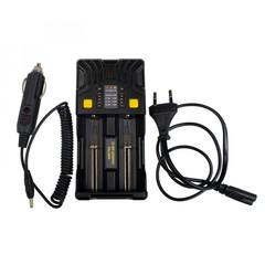 Зарядное устройство Armytek Uni C2, универсальное 2 канальное(1А для каждого канала/LED индикация) A02401С
