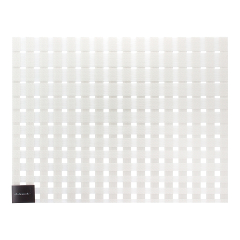 Салфетка подстановочная, винил, (36х48) Glass CHILEWICH Satin арт. 100398-001