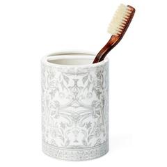Стакан для зубных щеток Kassatex Orsay Grey AOR-TBH-G