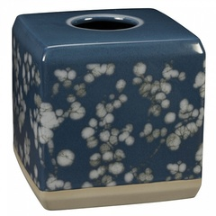 Бокс для салфеток (салфетница) Creative Bath Indigo Blossoms IND58BLU*