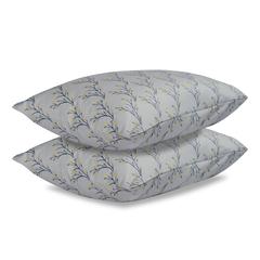 Комплект постельного белья полутораспальный из сатина с принтом 'Соцветие' из коллекции Essential Tkano TK19-DC0002