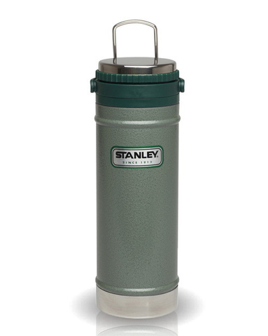 Термос Stanley Classic (0,47 литра) зеленый 10-01855-003