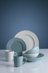 Тарелка для пасты Linear 23 см белая Mason Cash 2002.117