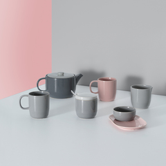Сахарница Cafe Concept D 8,5 см серая TYPHOON 1401.818V