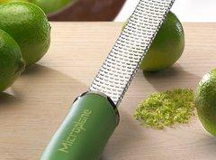Терка Microplane Premium Classic для сыра и цитрусовых зелёная 46720