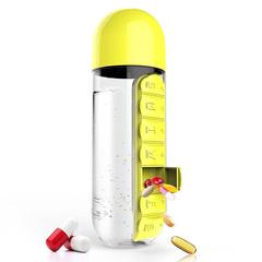 Бутылка органайзер Asobu In style (0,6 литра) желтая PB55 yellow