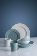 Тарелка для пасты Linear 23 см синяя Mason Cash 2002.122