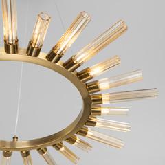Подвесной светильник со стеклянными плафонами Bogate's Sole 557