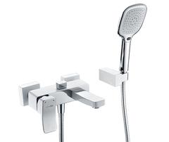 Aller 1061WHITE Смеситель для ванны с коротким изливом WasserKRAFT Серия Aller 1060WHITE