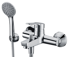 Rhin 4401 Смеситель для ванны с коротким изливом WasserKRAFT Серия Rhin 4400