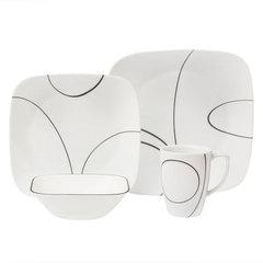 Набор посуды 16 предметов Corelle Simple Lines 1069983