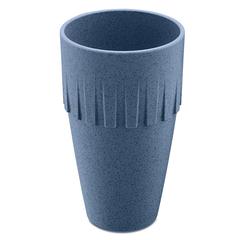 Кружка для латте CONNECT Organic 400 мл синяя Koziol 4081675