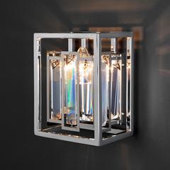 Настенный светильник с хрусталем Bogate's Cella 312/1 Strotskis