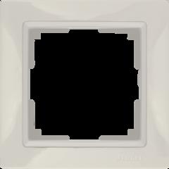 Рамка на 1 пост (слоновая кость, basic) WL03-Frame-01 Werkel