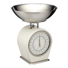 Весы кухонные механические Living Nostalgia creamy Kitchen Craft LNSCALECRE