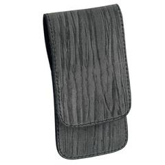 Маникюрный набор Erbe, 3 предмета, цвет серый, кожаный футляр 9104ER