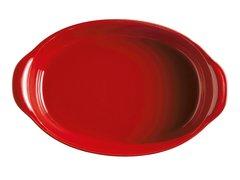 Форма для запекания овальная 41см Emile Henry (цвет: гранат) 349054
