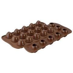 Форма для приготовления конфет Choco Spiral силиконовая Silikomart 22.152.77.0165