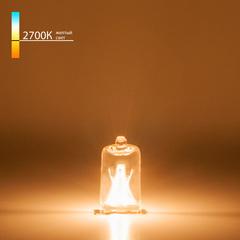 Лампа галогенная G9 220 В 40 Вт прозрачная Elektrostandard