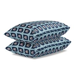 Комплект постельного белья полутораспальный из сатина цвета пыльной розы с принтом Blossom time из к Tkano TK19-DC0006