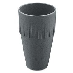 Кружка для латте CONNECT Organic 400 мл темно-серая Koziol 4081673
