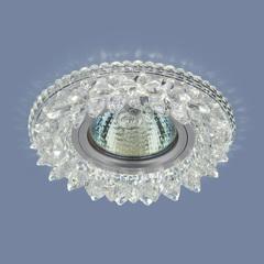 Встраиваемый точечный светильник с LED подсветкой 2212 MR16 CL прозрачный Elektrostandard