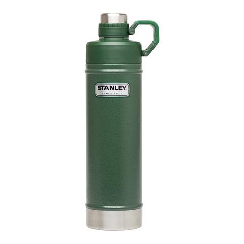 Термобутылка Stanley Classic (0,75 литра) зеленая 10-02286-003