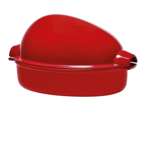Форма для запекания птицы Emile Henry (цвет: гранат) 348444
